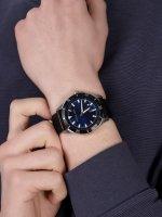 Michael Kors MK8854 zegarek srebrny klasyczny Layton pasek