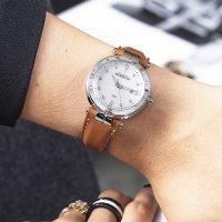 Michel Herbelin 14288/AP89GO zegarek srebrny klasyczny Newport pasek