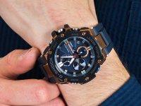 niebieski smartwatch Casio G-SHOCK G-STEEL GST-B100G-2AER - duże 6