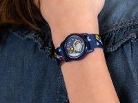 niebieski Zegarek Timex Dla dzieci TW2R41800 - duże 6
