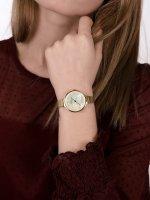 Obaku Denmark V173LXGGMG SKY - GOLD Slim fashion/modowy zegarek złoty