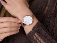 Obaku Denmark V173LXVWMV SKY - ROSE zegarek fashion/modowy Slim