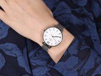 Obaku Denmark V209LXCIMC LIV - STEEL zegarek klasyczny Slim