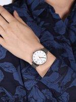 Obaku Denmark V209LXCIMC zegarek srebrny klasyczny Slim bransoleta