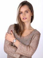 Opex X4051MA1 zegarek srebrny klasyczny See You Soon bransoleta