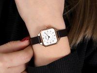 Opex X4166LA1 zegarek różowe złoto klasyczny Clarra pasek
