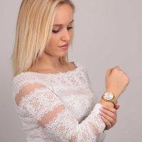 OUI  ME ME010230 zegarek różowe złoto klasyczny Bichette bransoleta