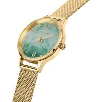 OUI  ME ME010273 zegarek srebrny klasyczny Bichette bransoleta