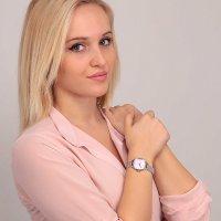 OUI  ME ME010274 zegarek różowe złoto klasyczny Bichette pasek