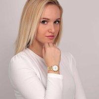 OUI  ME ME010277 zegarek srebrny klasyczny Coquette bransoleta
