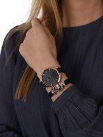 Pierre Ricaud P22002.9214Q-141.9BL zegarek różowe złoto klasyczny Pasek pasek