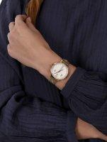 Police PL.16031MSG-22MMA zegarek złoty klasyczny Bransoleta bransoleta