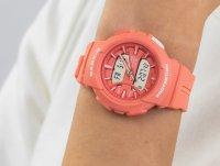 pomarańczowy Zegarek Casio Baby-G BGA-240BC-4AER - duże 6