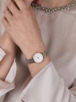 Rosefield 26SRGD-271 zegarek różowe złoto klasyczny The Small Edit bransoleta
