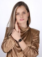 Rosefield QVBSD-Q016 zegarek różowe złoto fashion/modowy Boxy bransoleta