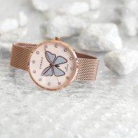 różowe złoto Zegarek  Butterfly S700LXVVMV-DB - duże 11
