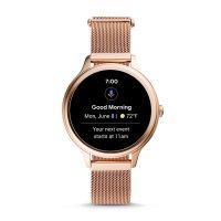 zegarek Fossil Smartwatch FTW6068 różowe złoto Fossil Q