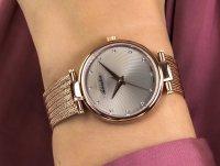 różowe złoto Zegarek Adriatica Bransoleta A3689.9147Q - duże 6