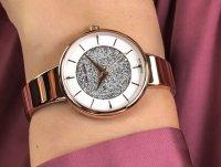 różowe złoto Zegarek Adriatica Bransoleta A3718.9113Q - duże 6