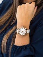 różowe złoto Zegarek Caravelle Pasek 44L251 - duże 5