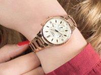 różowe złoto Zegarek Casio Sheen SHE-3047PG-9AUER - duże 6