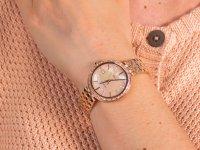 różowe złoto Zegarek Casio Sheen SHE-4052PG-4AUEF - duże 6
