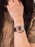 Casio Vintage B650WC-5AEF damski zegarek VINTAGE Maxi bransoleta