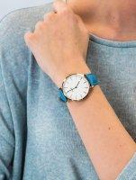 różowe złoto Zegarek Cluse La Boheme CL18033 - duże 5