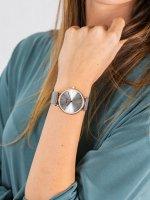 różowe złoto Zegarek Cluse La Boheme CW0101201006 - duże 5
