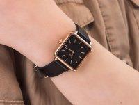 Cluse CL60007 Rose Gold/Black zegarek klasyczny La Tetragone