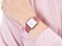 różowe złoto Zegarek Cluse La Tetragone CL60020 - duże 6