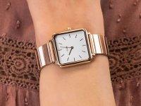 Cluse CL60024S Single Link Rose Gold/White zegarek klasyczny La Tetragone
