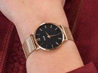różowe złoto Zegarek Cluse Minuit CLA004 - duże 6