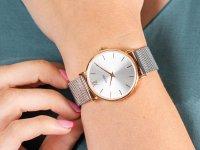 różowe złoto Zegarek Cluse Minuit CW0101203004 - duże 6