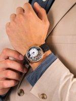 Epos 3435.313.24.26.25 męski zegarek Oeuvre DArt pasek