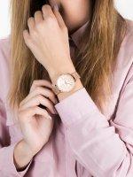 różowe złoto Zegarek Fossil Jacqueline ES4628 - duże 5