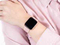 Garett 5903246287110 Smartwatch Garett Women Eva RT różowy zegarek sportowy Damskie