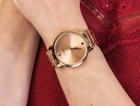 Guess W1313L3 zegarek różowe złoto klasyczny Bransoleta bransoleta