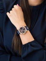 różowe złoto Zegarek Guess Pasek W1160L3 - duże 5