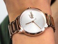 różowe złoto Zegarek Lacoste Damskie 2001060 - duże 6