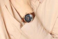 różowe złoto Zegarek Meller Maya W9RN-1CHOCO - duże 9