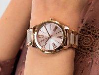 różowe złoto Zegarek Michael Kors Hartman MK3595 - duże 6