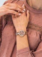różowe złoto Zegarek Michael Kors Parker MK6470 - duże 9