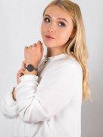 różowe złoto Zegarek Obaku Denmark Bransoleta V227LXVJMJ - duże 4