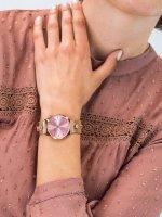 różowe złoto Zegarek Thom Olson Gypset CBTO017 - duże 5