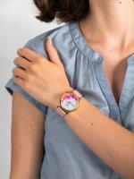 różowe złoto Zegarek Timex Full Bloom TW2U18500 - duże 5
