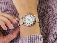 różowe złoto Zegarek Timex Standard TW2U13500 - duże 6