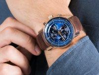 różowe złoto Zegarek Vostok Europe Limousine YM86-565B289 - duże 6