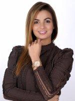 Rubicon RNBD04RIRX03AX zegarek różowe złoto sportowy Bransoleta bransoleta