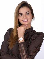 Rubicon RNBD06RISZ03AX zegarek różowe złoto sportowy Bransoleta bransoleta